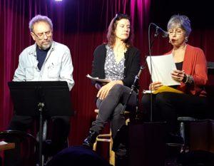 with Elizabeth Coleman and Kryssa Schemmerling Cornelia St. 3-7-17